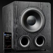 "SVS PB2000 Pro 12"" Subwoofer 550w Sort Ask"