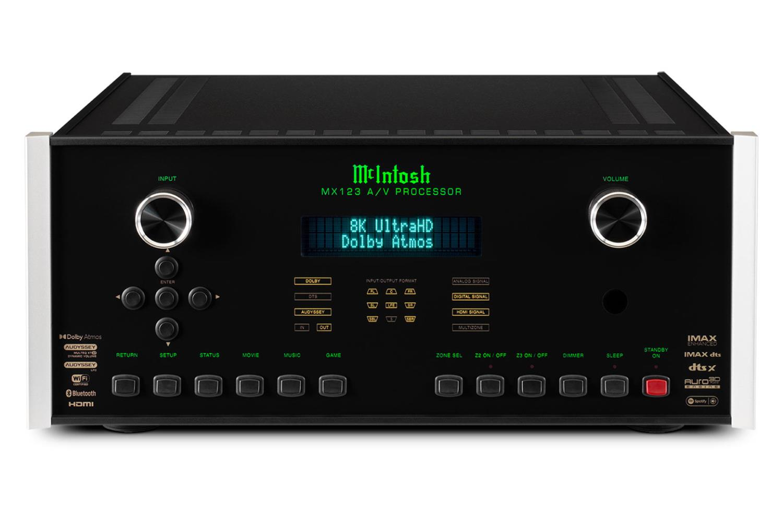 McIntosh MX123A High End Hjemmekinoprosessor med 8K
