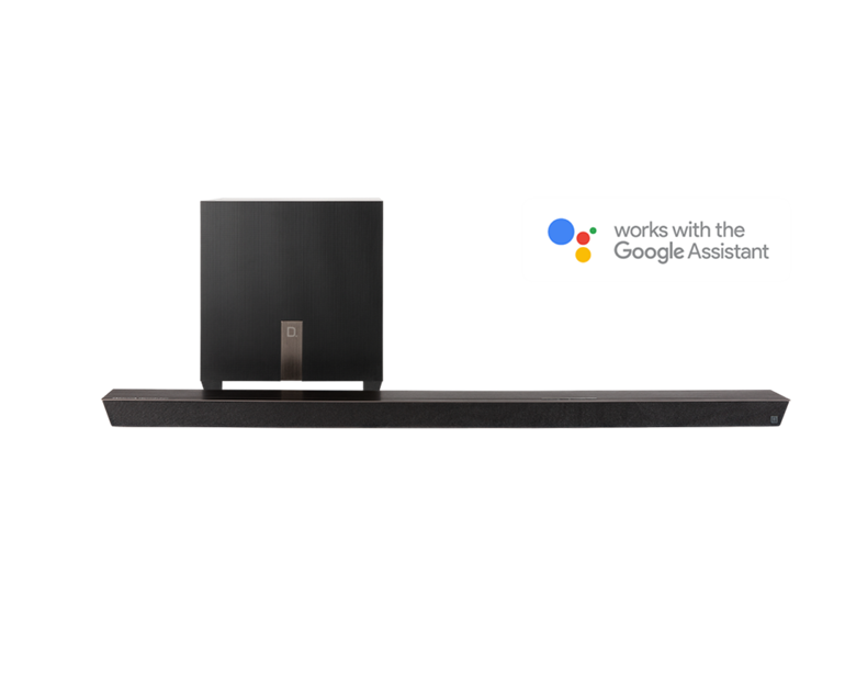 Definitive Technology Studio Slim 3.1 Lydplanke med innebygget Chromecast