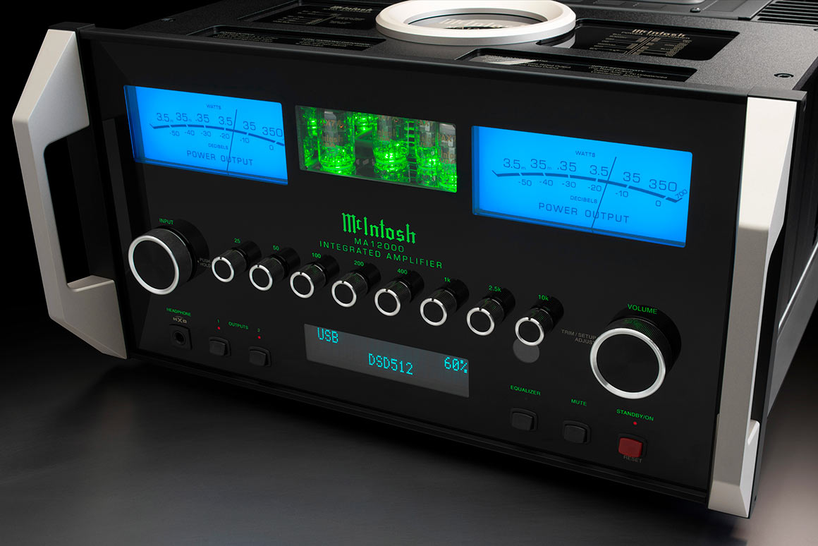 McIntosh MA12000 Integrert superforsterker med rør og DAC 2x350w