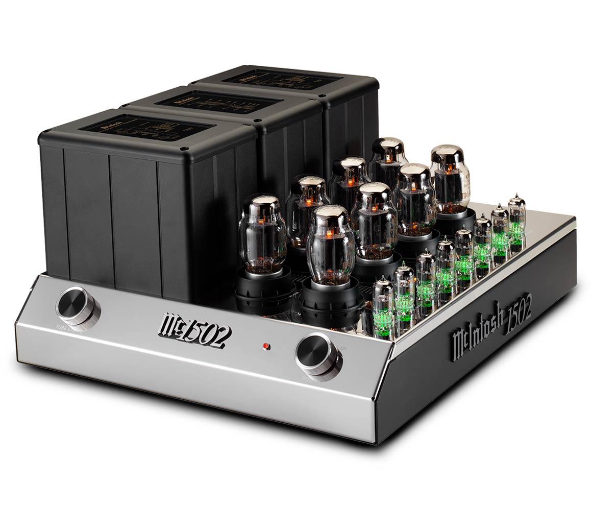 McIntosh MC1502 Stereo Effektforsterker med rør 2x150w