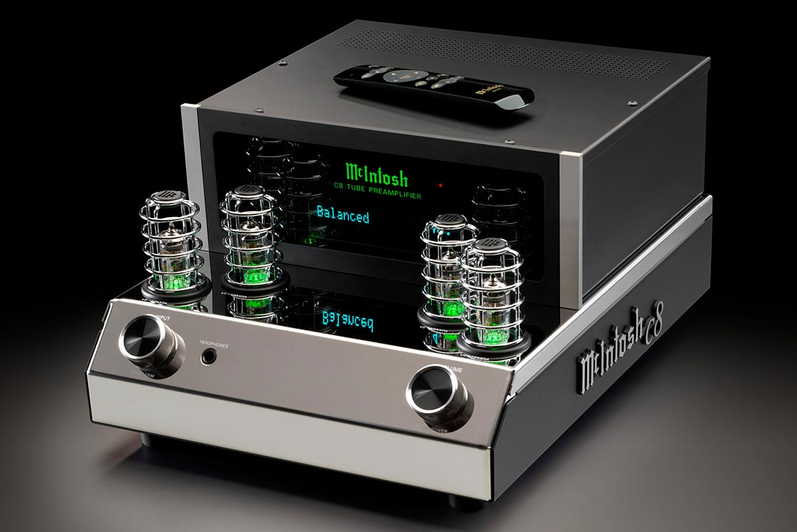 McIntosh C8 Forforsterker med rør og mulighet for DAC