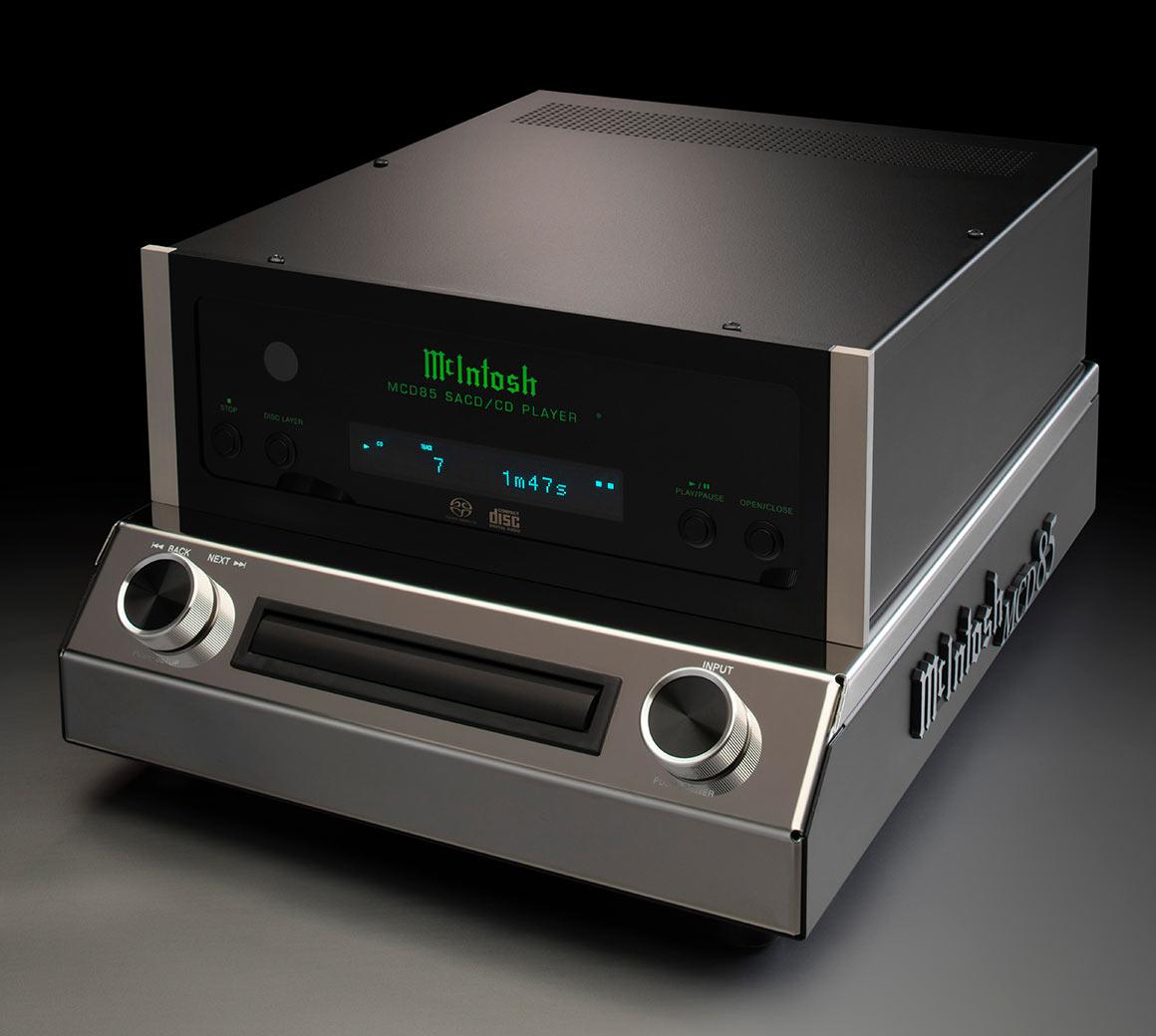 McIntosh MCD85 SACD/CD Spiller med DAC