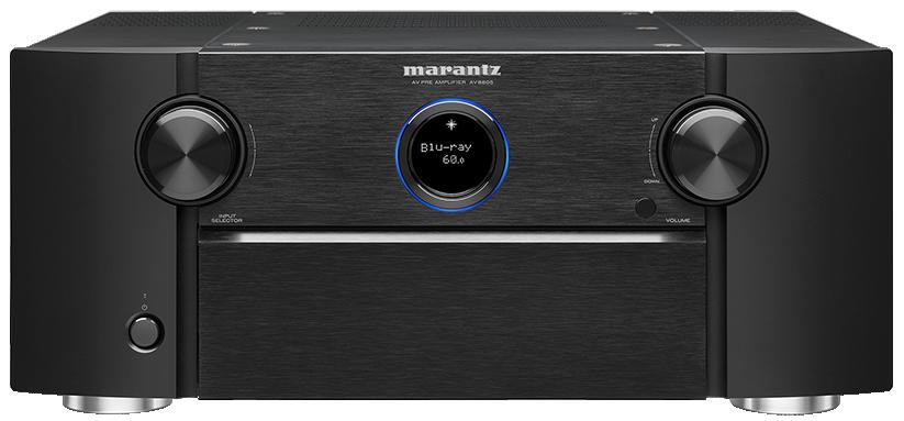 Marantz AV8005A High-End 13.2 Kanals Hjemmekinoprosessor med HDMI 2.1, 8K og streaming
