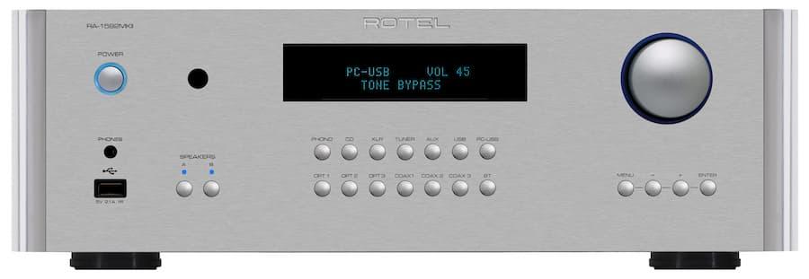 Rotel RA1592mkII Integrert forsterker med DAC 2x200w